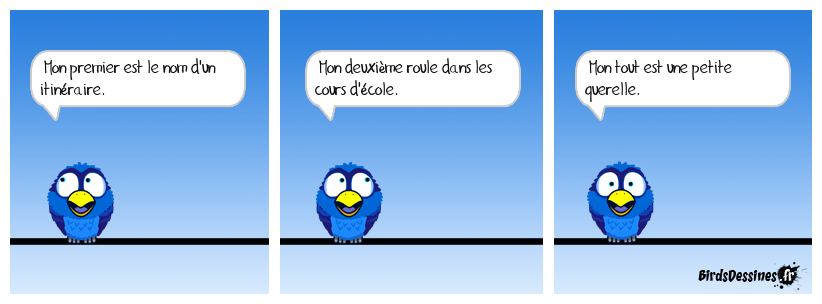 La charade du vieux François 25.