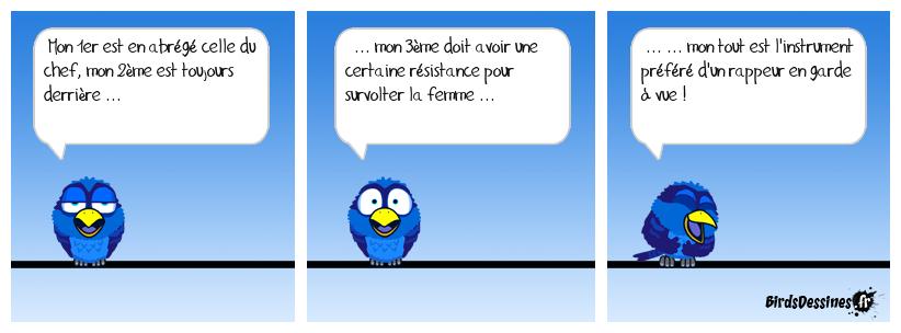 La charade du vieux ... Breton rappeur et sans reproches !