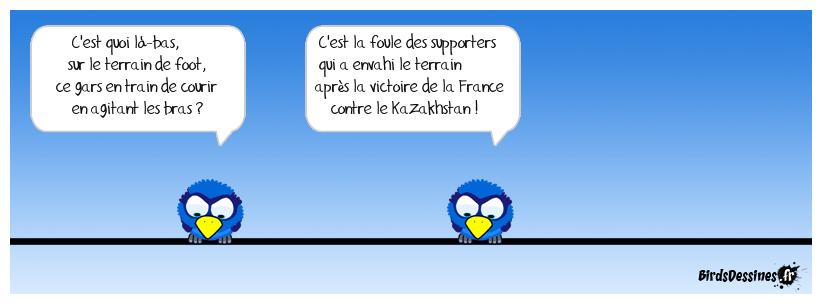 France : 2 - Kazakhstan : 0