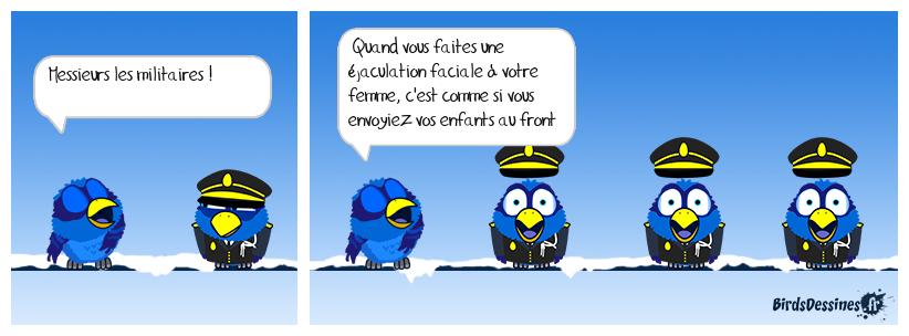 📣 Avertissement aux militaires 👨✈️🤦🏻