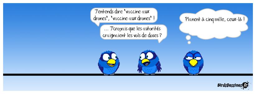 Je me demande si les Français, aux vaccinodromes, adhèrent ?