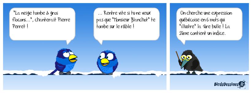 Verbi expression québécoise 03 (clin d'oeil à Diane)