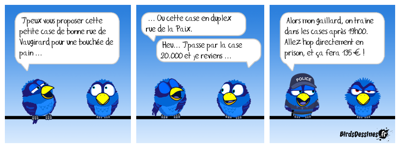 monopoly birds