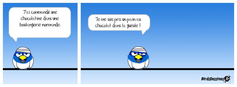 Guerre et pain (au chocolat)