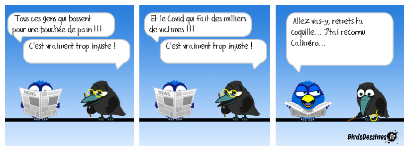 remets ta coquille ...