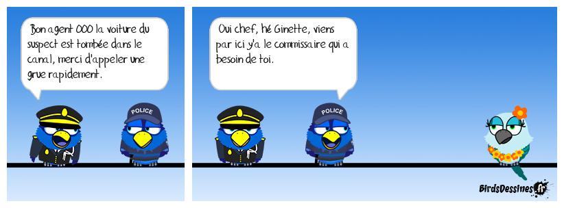 Petite connerie policière.