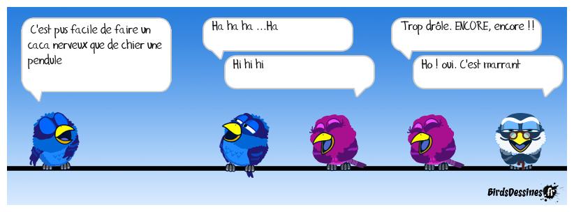 Monsieur Bird au 2ème  cabaret