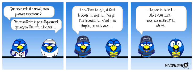 Le Brutus bleu