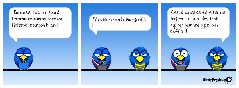 🤣 Macron face à un passant 🌬️🥴