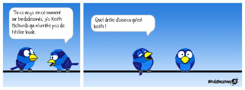 Le petit oiseau va sortir.