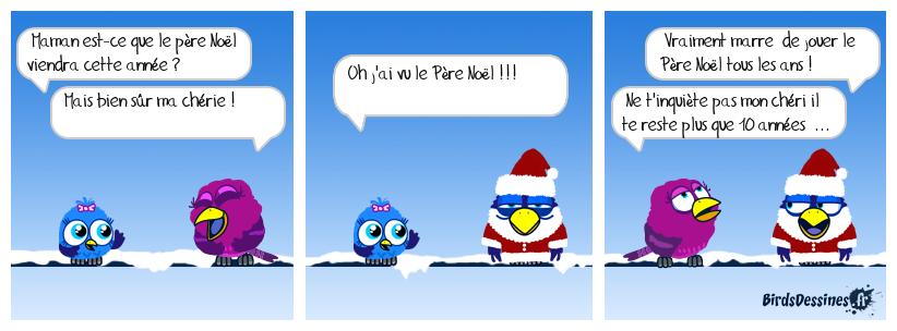 Le Père Noël Ras-le-bol