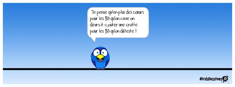suggestion de modification du site birdsdessinés