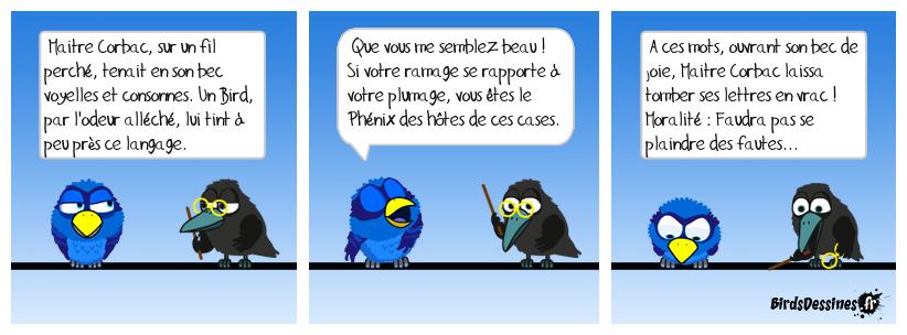 le corbac et le bird