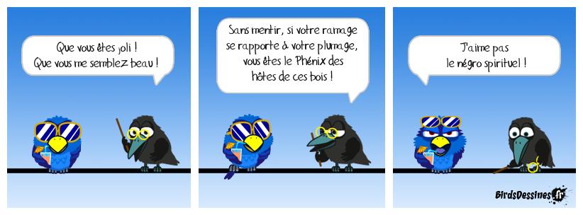 Le corbeau et le connard