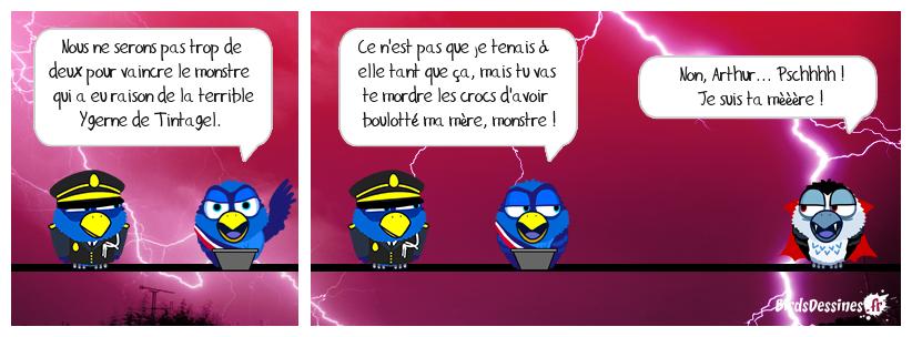 Kaamelott 16 : Bird wars