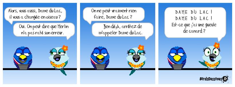 Kaamelott 17 : Hôtel du Bird