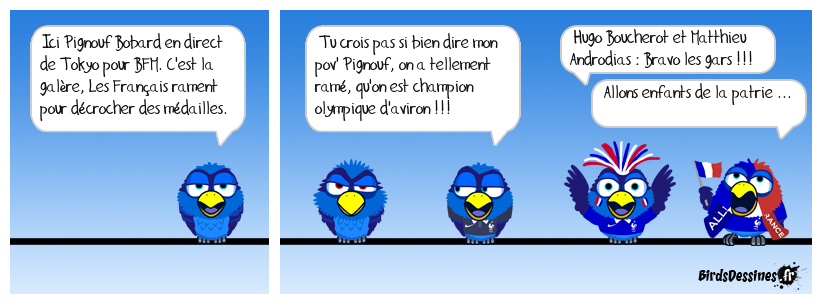 hugo boucheron et matthieu androdias : médaille d'or !