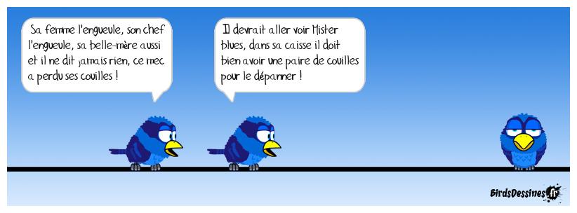 💥 Mister blues à votre service 🧰😵💫