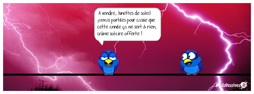 😟 Petite annonce estivale 😧📣