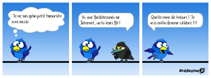 Hommage à  BirdsDessinés et au Corbac