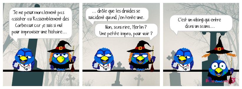 Kaamelott 58 - Le Rassemblement des Corbeaux