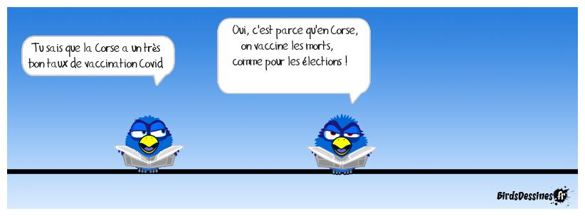 Vaccination en Corse