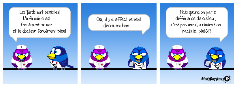 Métabirds 10: Discrimination
