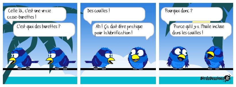 😂 Burettes = couilles 🤦👍
