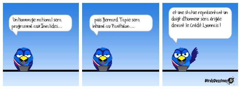 Hommage à Bernard Tapie