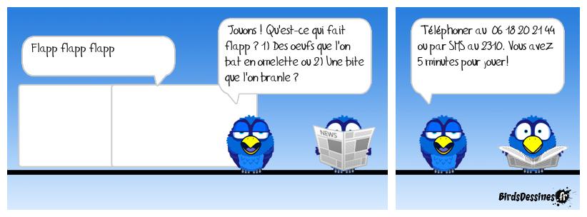📞 Jeu TV Birds 📺🤑