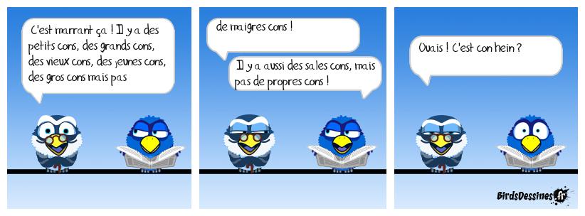 🙄 Histoire de cons 🤦🤷