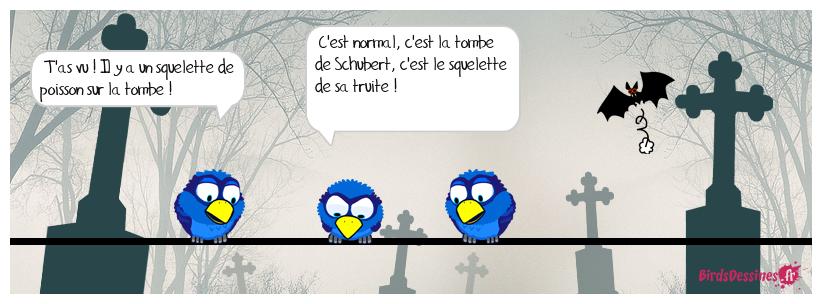 ⚰️ La tombe de Schubert 🐟😱